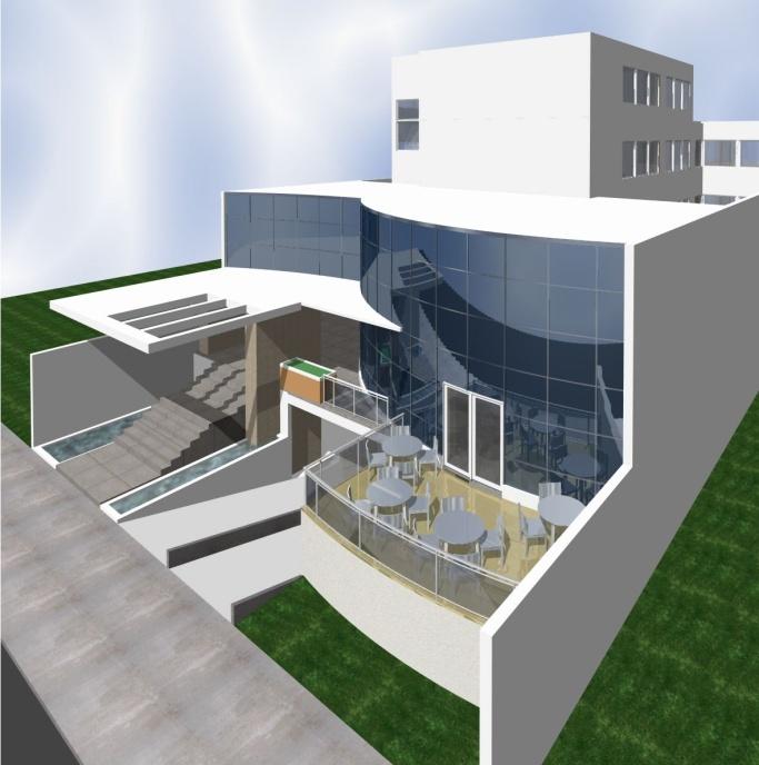 Construiran edifico parqueos p blicos en santiago for Edificio oficinas